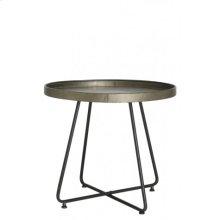 Side table 64,5x59 cm HYLKE tin look