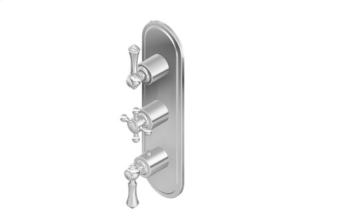 Canterbury M-Series Valve Trim with Three Handles