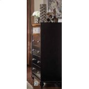 Barzini Five-drawer Chest With Metallic Drawer Front Product Image