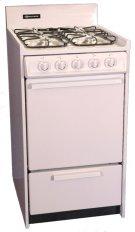 "20"" Free Standing Gas Range Product Image"