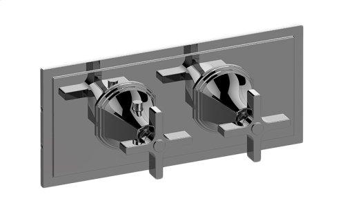 M-Series Valve Horizontal Trim with Two Handles