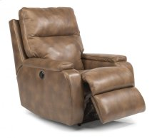 Runway Leather or Fabric Power Recliner