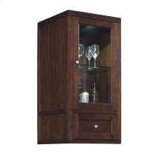 Wesleyan Freestanding Upper Display Cabinet