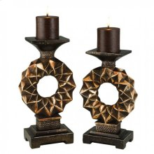 Mabel Candle Holder Set (4/box)