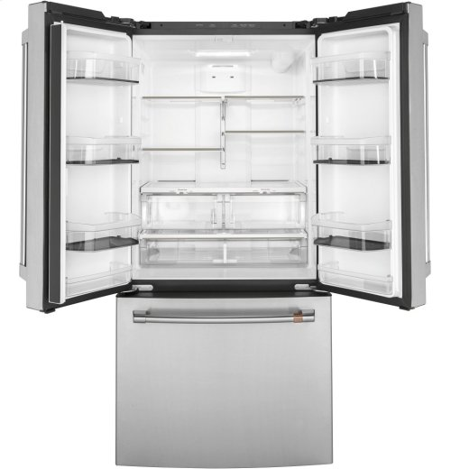 Café ENERGY STAR ® 18.6 Cu. Ft. Counter-Depth French-Door Refrigerator