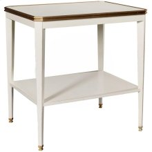 Austell Side Table Base with Wood Top