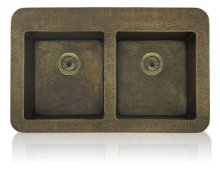 Equal Double Bowl Topmount/Undermount