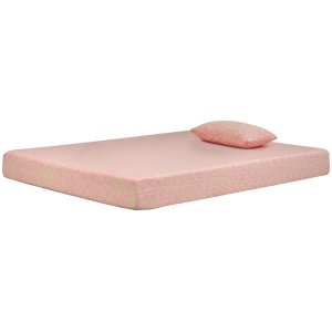 AshleyASHLEY SIERRA SLEEPIkidz Pink Full Mattress and Pillow
