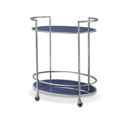 Maci Bar Cart - Cobalt