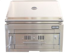 id Dual Zone Charcoal/Wood Burning Grill