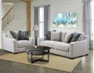 1400 - Homespun Platinum Sofa Product Image