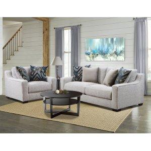 American Furniture Manufacturing1400 - Homespun Platinum Sofa