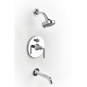 Tub and Shower Trim River (series 17) Polished Chrome