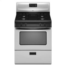 4.4 cu. ft. Gas Range with Versatile Cooktop - stainless_steel