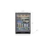 """SUB-ZERO24"""" Undercounter Beverage Center - Panel Ready"""