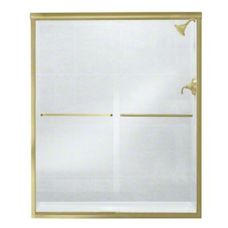 547559PBG05 in Polished Brass With Smooth/clear Glass Texture by ...