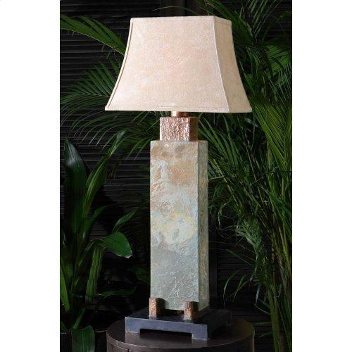Slate Tall Table Lamp