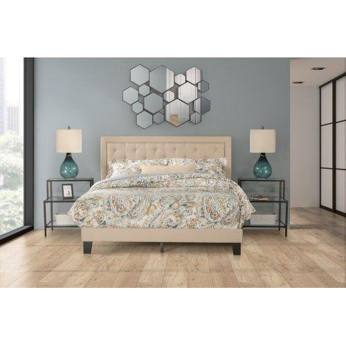 La Croix Bed In One - King - Linen