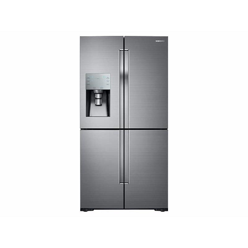 28 cu. ft. 4-Door Flex™ Refrigerator with FlexZone™ in Stainless Steel