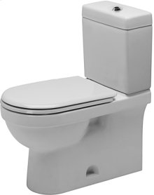 """White Two-piece Toilet, (without Cistern), Syphonic, Vertical Outlet, 1.28 Gpf (4.8 Liters), 12"""" Rough-in, Us Version Toilet, Cupc Listed, Water Saving 6-liter Flush"""