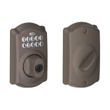 Camelot trim Keypad Deadbolt - Oil Rubbed Bronze