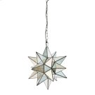 Small Star Chandelier With Antique Mirror. Product Image