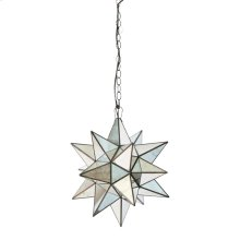 Small Star Chandelier With Antique Mirror.