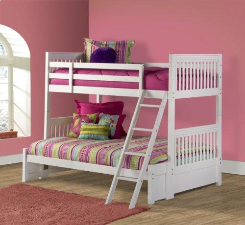 Lauren Twin/full Bunk Bed