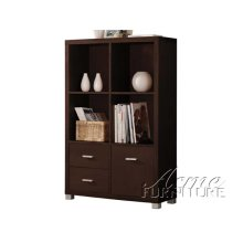 Display Cabinet w/2 Drawer & Door