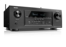 7.2 Channel Full 4K Ultra HD AV Receiver with 185W per channel, built-in HEOS wireless technology, Bluetooth®, Dolby Atmos, DTS:X, Audyssey MultEQ, Dolby Vision compatible, HDR, HDMI 8 in / 2 out
