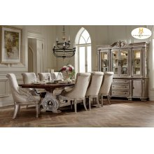 5PC SET (Table with 4 Arm Chairs)