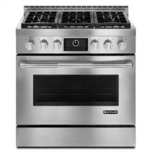 "Pro-Style® 36"" Gas Range with MultiMode® Convection"