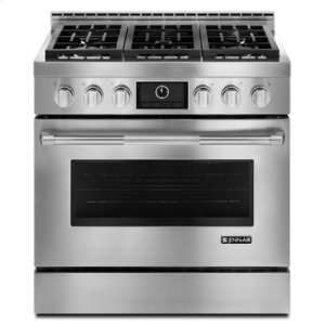 "JENN-AIRPro-Style(R) 36"" Gas Range with MultiMode(R) Convection"