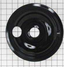 8 INCH BLACK PORCELAIN BURNER BOWL ELECTRIC