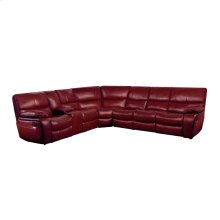 4-Piece Modular Reclining Sectional with LAF Console
