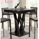 Contemporary Cappuccino Bar-height Table Product Image
