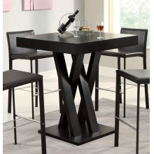 Contemporary Cappuccino Bar-height Table