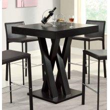 Contemporary Cappuccino Bar-height Table