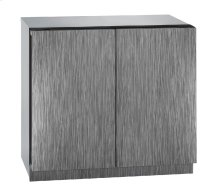 "Modular 3000 Series 36"" Beverage Center With Integrated Solid Finish and Double Doors Door Swing"