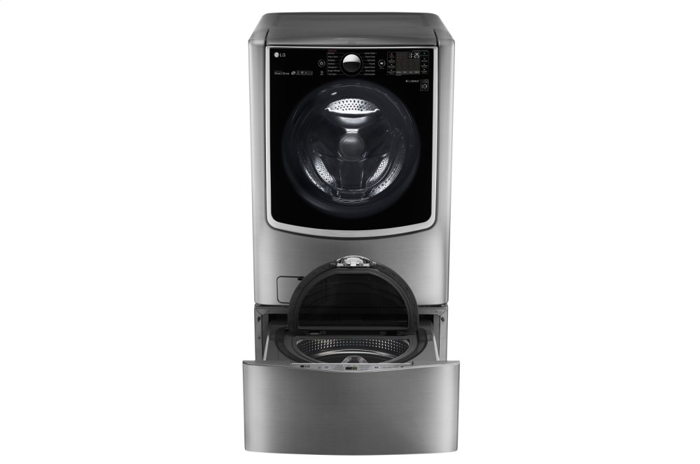 LG Appliances5.5 Total Capacity Lg Twinwash™ System With Lg Sidekick™