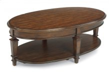 Oakbrook Oval Coffee Table