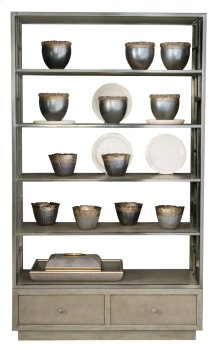 Mosaic Etagere in Dark Taupe (373)