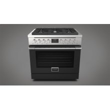"36"" All Gas Range - Matte Black"