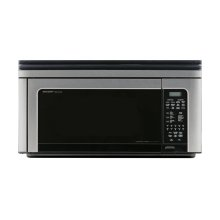 1.1 cu. ft. 850W Sharp Stainless Steel Carousel Over-The-Range Microwave Oven