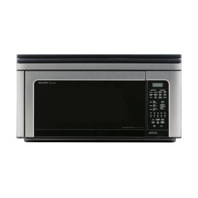 Sharp Carousel 1 Cu Ft 850w Stainless Steel Over The Range Convection