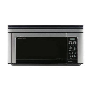 Sharp Appliances1.1 cu. ft. 850W Sharp Stainless Steel Carousel Over-The-Range Microwave Oven