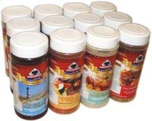 Seasoning Assorted Pack (3 Jars Each Flavor)