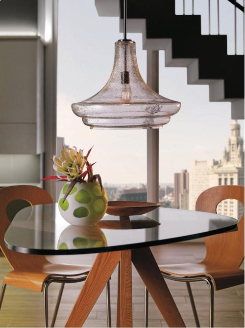 Everly Collection Everly 1 Light Pendant (42329NI)  Brushed Nickel
