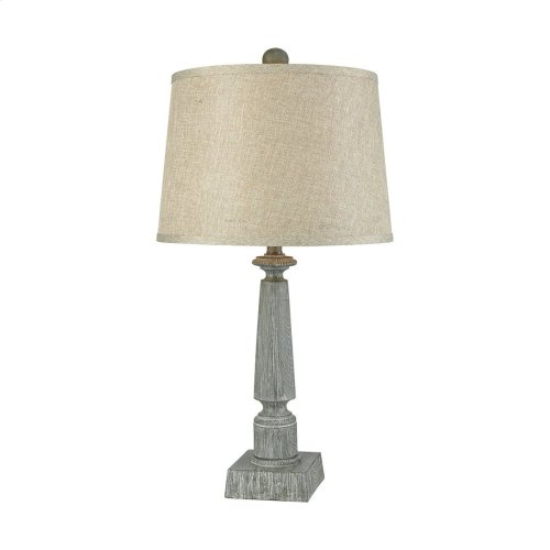 Trice Restoration Grey Table Lamp