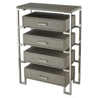 Mezzanine 4-drawer Chest In Stainless Product Image